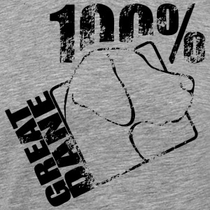 GREAT DANE 100 - Premium-T-shirt herr