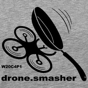 drone-smasher - Men's Premium T-Shirt