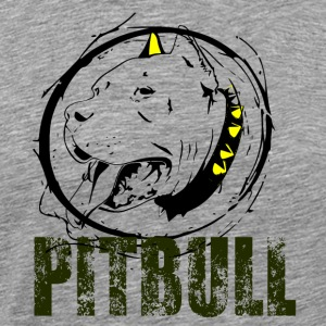 PITBULL - Dog Love - Men's Premium T-Shirt