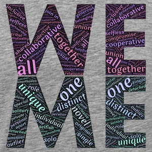 we & me - Men's Premium T-Shirt