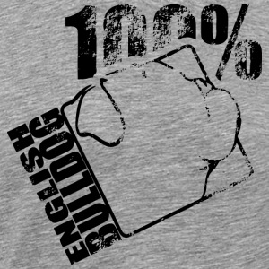 ENGLISH BULLDOG 100 - Men's Premium T-Shirt