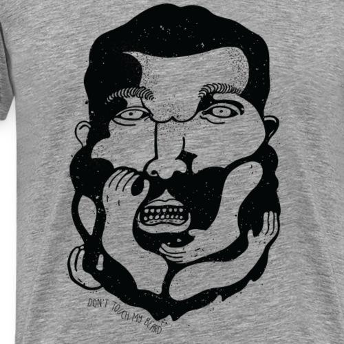 DON'T TOUCH MY BEARD - Mannen Premium T-shirt
