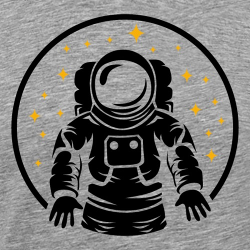 Astronaut Weltraum Geschenk Sterne Universum - Männer Premium T-Shirt