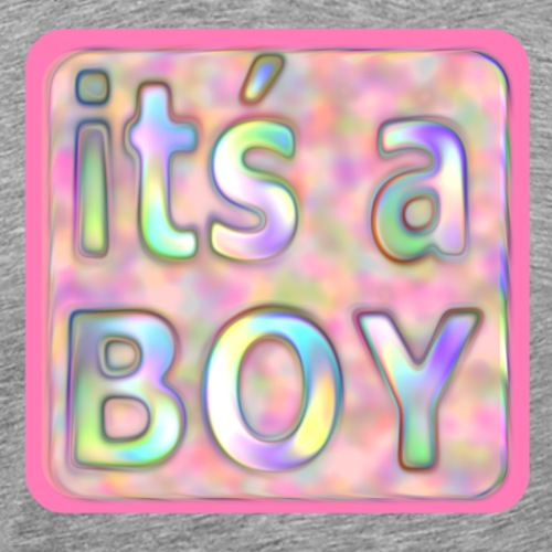 its a boy rosa text skylt - Men's Premium T-Shirt