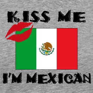 Mexican Kiss Me - Men's Premium T-Shirt
