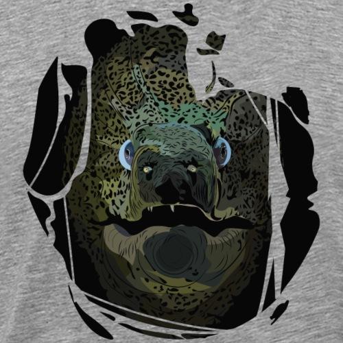 Vorsicht eine Muräne - Männer Premium T-Shirt