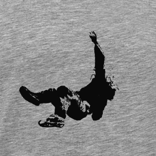 Falling in Paranoia - Logo - Männer Premium T-Shirt
