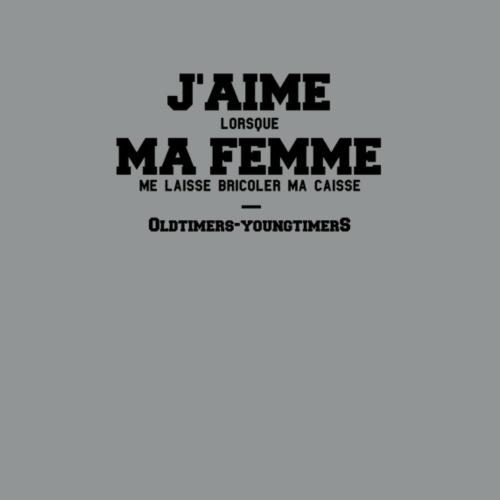 J'AIME MA FEMME - T-shirt Premium Homme