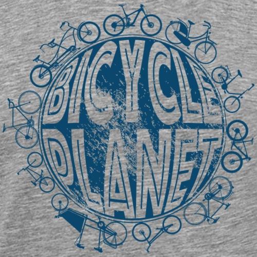 Fahrrad Mountainbike Rebbrad Bicycle Planet - Männer Premium T-Shirt