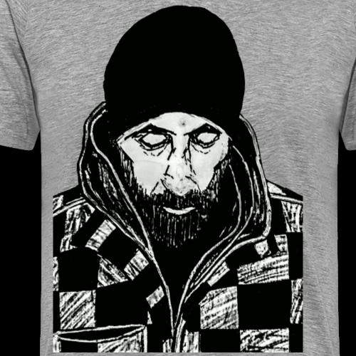 Marek head - Mannen Premium T-shirt