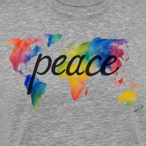 peace on earth 2.2 - Männer Premium T-Shirt