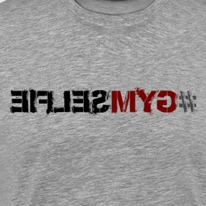 #GYMSELFIE - Men's Premium T-Shirt