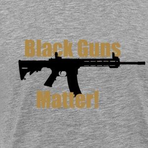 BLACK GUNS MATTER - Männer Premium T-Shirt
