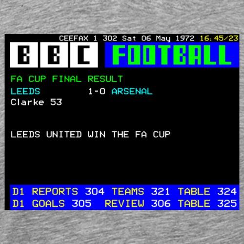 1972 FA Cup Final - Men's Premium T-Shirt