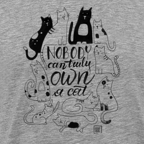 Truly Cats - Maglietta Premium da uomo