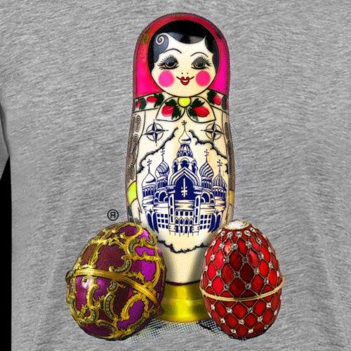 """""""MATROSCHKA"""" - Street Art Artwork by Ostap - Men's Premium T-Shirt"""