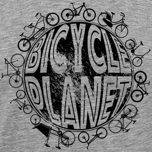 Fahrrad Fahrradfahren Bicycle Planet - Männer Premium T-Shirt
