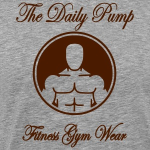 The Daily Pump Torso - Männer Premium T-Shirt