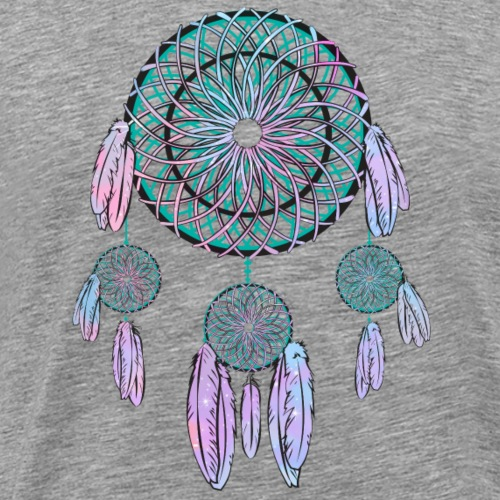 Indian Dreamcatcher - T-shirt Premium Homme