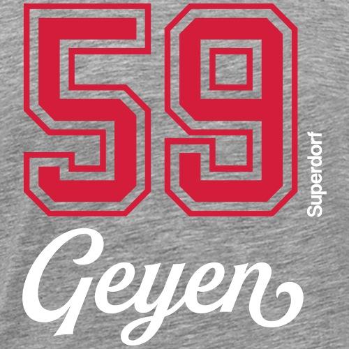 Superdorf Geyen - Männer Premium T-Shirt