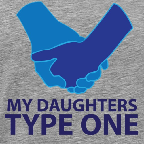 My daughters type 1 - Men's Premium T-Shirt