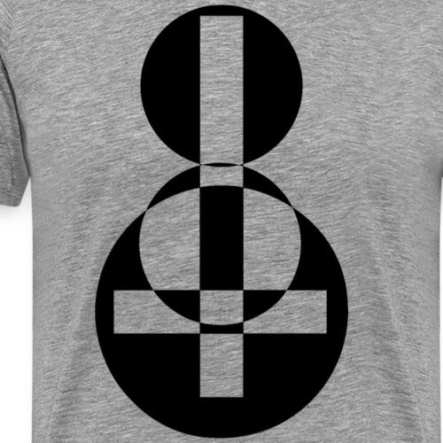 Cruz - Camiseta premium hombre