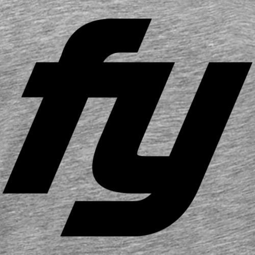 Logo swaggy Schwarz - Männer Premium T-Shirt
