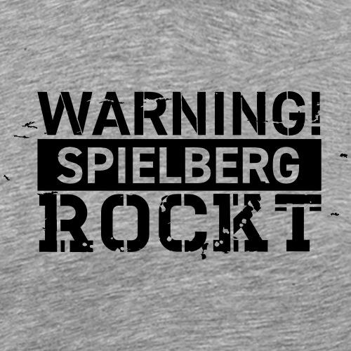 WARNING - Spielberg rockt! - Männer Premium T-Shirt