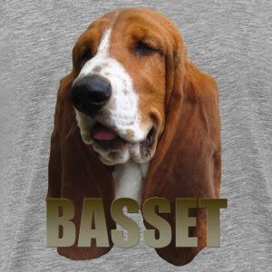 Basset - Premium T-skjorte for menn