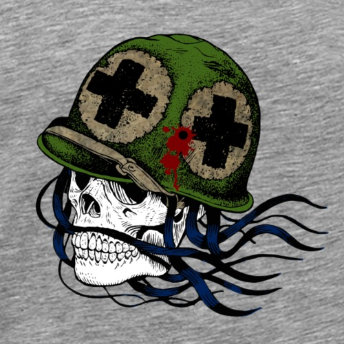 Skull first aid - Männer Premium T-Shirt