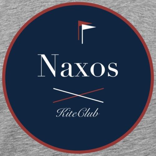 NAXOS 175x175 bleu rouge - T-shirt Premium Homme