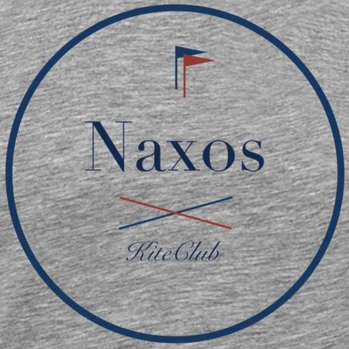 NAXOS 175x175 blanc bleu - T-shirt Premium Homme