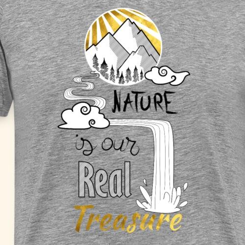 nature's treasure - T-shirt Premium Homme