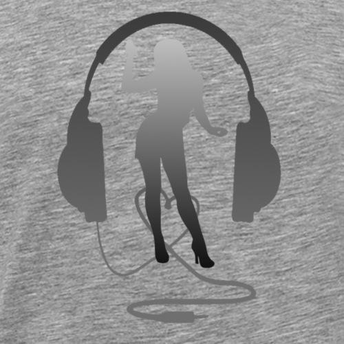 casque - T-shirt Premium Homme