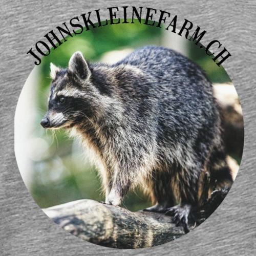 Waschbaer - Männer Premium T-Shirt