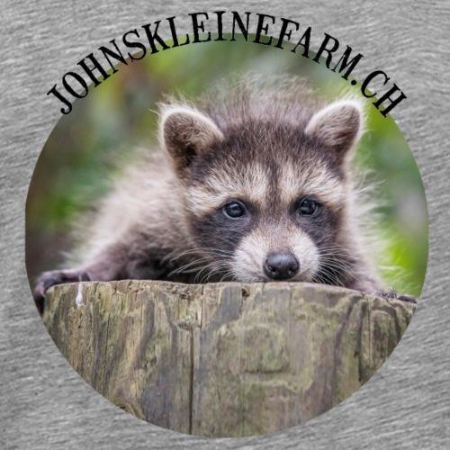 Waschbären Junges - Männer Premium T-Shirt