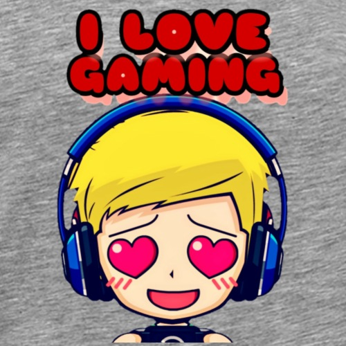I LOVE GAMING - Männer Premium T-Shirt