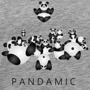 Pandamic - Mannen Premium T-shirt