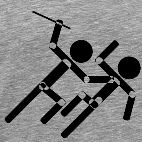 Fighting - Männer Premium T-Shirt