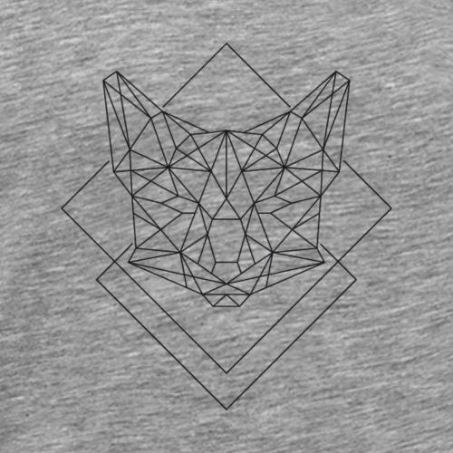 Polygon Fuchs - Männer Premium T-Shirt