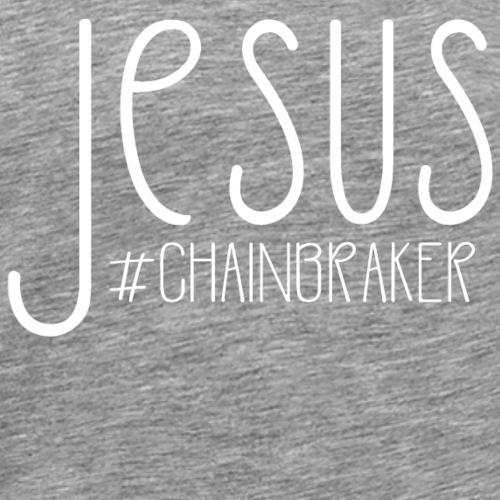 Jesus #chainbreaker christliches christen Geschenk - Männer Premium T-Shirt