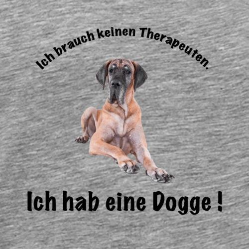 Dogge - Männer Premium T-Shirt