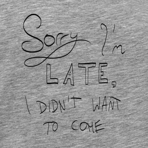 Sorry - Männer Premium T-Shirt