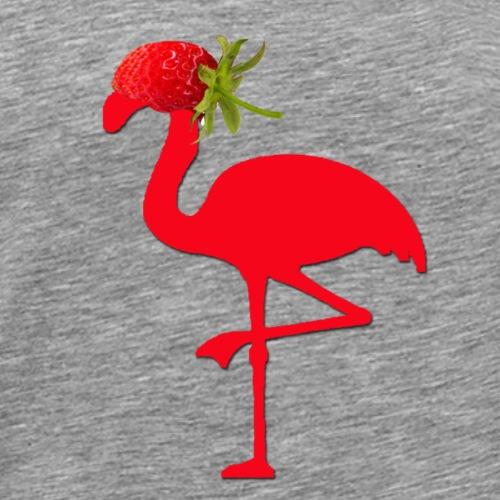 Strawberry Flamingo - Männer Premium T-Shirt