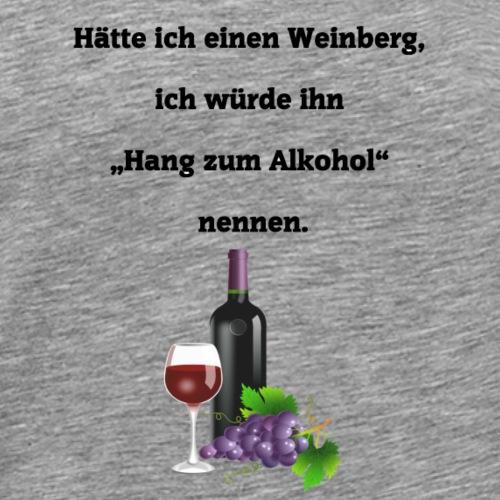 Weinberg - Männer Premium T-Shirt