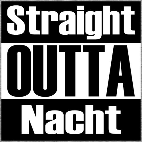 Straight OUTTA Nacht - Männer Premium T-Shirt