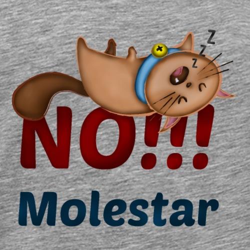 Gato No Molestar 01 Smbras - Camiseta premium hombre