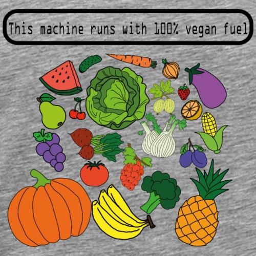 vegan fuel - Männer Premium T-Shirt