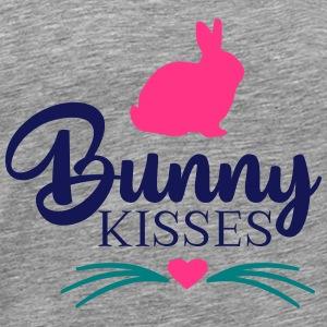 Bunny Kisses - Mannen Premium T-shirt