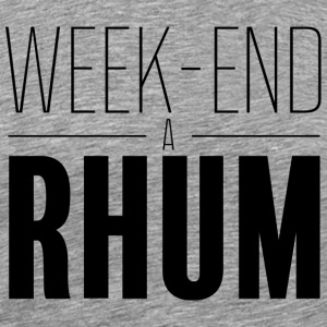 Weekend rom - Herre premium T-shirt